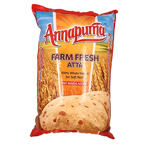 Annapurna Atta - No Maida Added, 5kg Pack