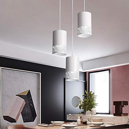 Foraging hamster Moderne Beleuchtung Kreative Esszimmer Kronleuchter, Weiß Esszimmer Lampen, Studie Kassierer Kronleuchter, DREI Kronleuchter Im Wohnzimmer (12 * 24cm, E27 Schraube-Port)