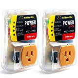 Surge Protector,Voltage Protector for Home Appliance, Voltage Brownout Outlet 110V 20A (2 Pack)
