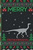 Ugly Struthiomimus Christmas Composition Notebook: Struthiomimus Lover Xmas Lighting Ugly Style Christmas Pajama Journals - Christmas Decoration Journal Notebook For Men, Women, Girls, Kids