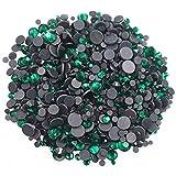 Hot Mix Size Rhinestones 2500pcs / lot 5 Tamaños Mezclados Bling-Bling Shine Crystals Strass Glue Back Rhinestones para ropa, ss6 1440pcs