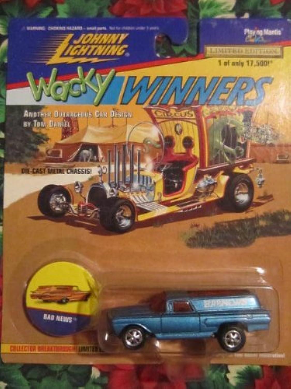 Johnny Lightning Wacky Winners 1 of 17,500 Bad News by Playing Mantis