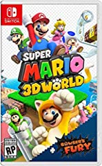 The cat's out of the bag-Super Mario 3D World is coming to the Nintendo Switch system! The Super Mario 3D World + Bowser's Fury game features the same great co-op gameplay creative levels and power-ups as the original game, but also so much more. Add...