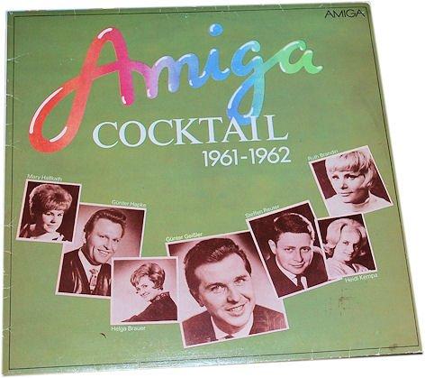 AMIGA-Cocktail 1961-62. Compilation. Erfolgreiche Titel von DDR-Schlagersängern von Anfang der 60er Jahre. (Vinyl/ Schallplatte/ LP)