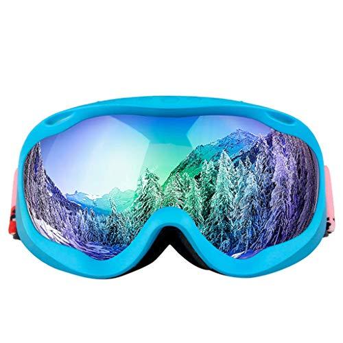 Gugavivid Skibrille, Snowboard Brille Double Anti FogLens,UV Schutz, Antibeschlag, Schneebrille für Männer und Frauen (F)