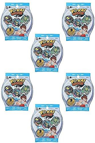 Yo-Kai Season 1 Medals – Six Blind Bags – 18 Random Medals by Yokai