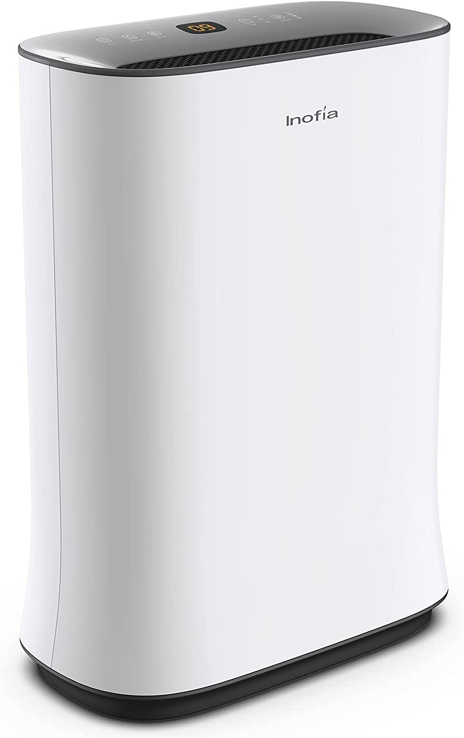 Inofia Air Purifier with True HEPA Air Filter, Air Cleaner for Large Room, for Spaces Up to 800 Sq Ft, Perfect for Home/Office with Filter (800sq.ft)