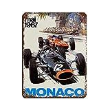 Formel-1-Renn-Poster Retro F1 Auto HD Poster 31 Blechschild