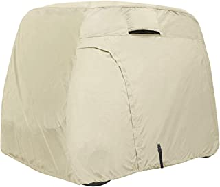 Explore Land 600D Waterproof Golf Cart Cover Universal Fits for Most Brand 4 Passenger Golf Cart