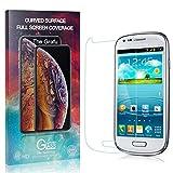 The Grafu Displayschutzfolie Kompatibel mit Galaxy S3 Mini, 9H Härte, Anti Öl, Anti Kratzen Schutzfolie aus Gehärtetem Glas für Samsung Galaxy S3 Mini, 1 Stück