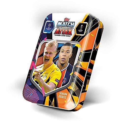 Topps Champions League 2020/21 - Trading Cards - 1 Mini Tin Box