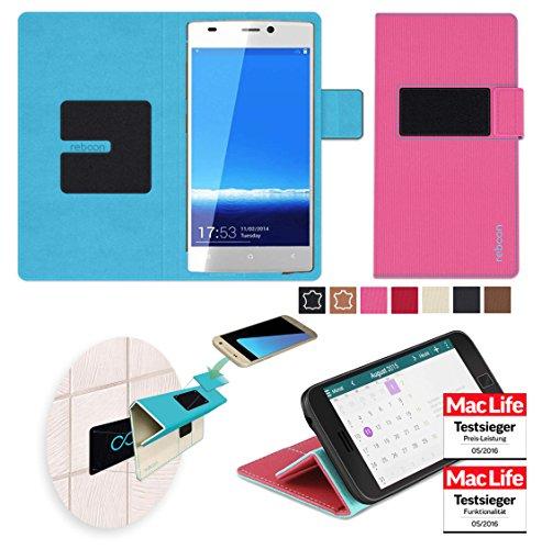 Hülle für Gionee Elife S5.1 GN9005 Tasche Cover Hülle Bumper   Pink   Testsieger