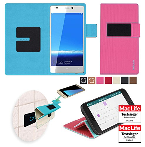 reboon Hülle für Gionee Elife S5.1 GN9005 Tasche Cover Case Bumper | Pink | Testsieger
