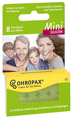 Ohropax Mini Silicon, 5er Pack (5 x 8 Stück)