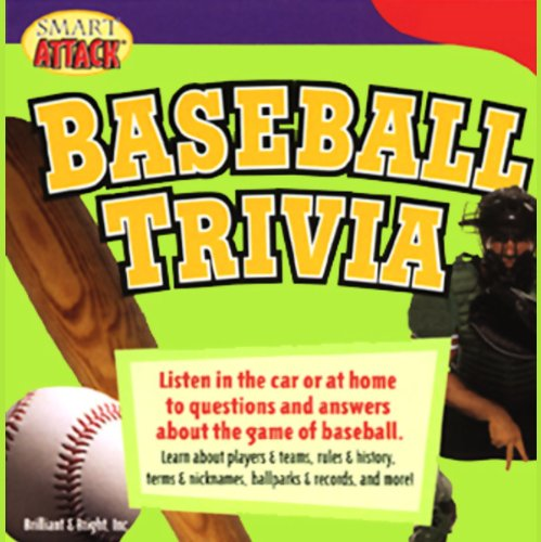 Smart Attack Baseball Trivia audiobook cover art