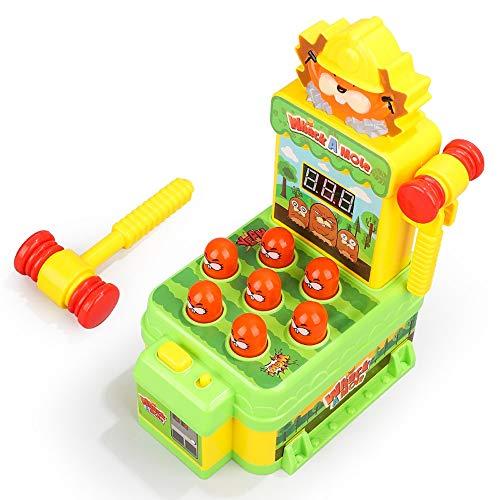 Lihgfw Baby Glückliche Hamster-Spielzeug for Kinder Puzzle Großen Elektro Großer Kinder Maus Smashing Spiel-Maschine mit Musik