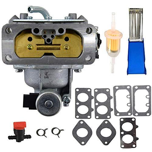 Carburetor for Kawasaki 15004-0757 FH721V FH641V FH601V FH661V FH680V FX850V 22HP Engine Carb with Gaskets Replaces 15003-7094 15004-1005 15004-1010 15004-0763