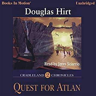 Quest for Atlan audiobook cover art