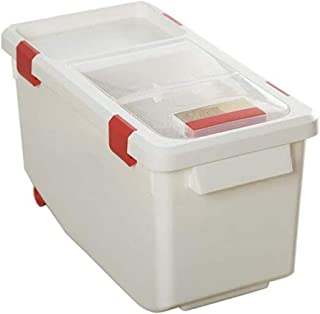 AWAING Bocaux Céréales des contenants Récipient en plastique Thicken Joint humidité Preuve 10/15 kg Cuisine grain Boîte de...