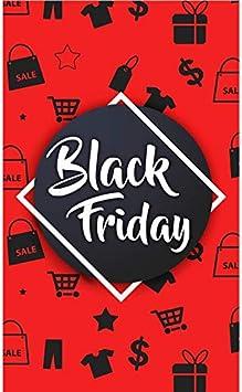 HALF PRICE BANNERS Black Friday Shop Vinyl Banner -Indoor//Outdoor 3X8 Foot -Red Includes Zip Ties Easy Hang Sign-Made in USA