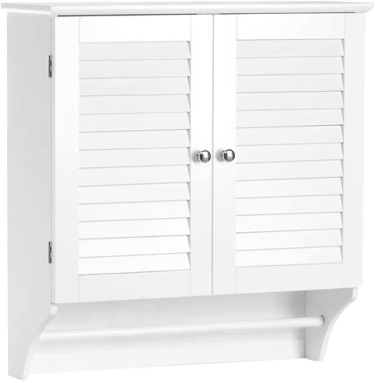 RiverRidge Easy-to-use Indianapolis Mall Ellsworth Collection-2-Door Cabinet Wall White