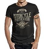 Biker T-Shirt Racer Design: Motorcycle Brotherhood L