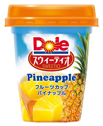 ドール フルーツカップ スウィーティオパイナップル 320g ×6個