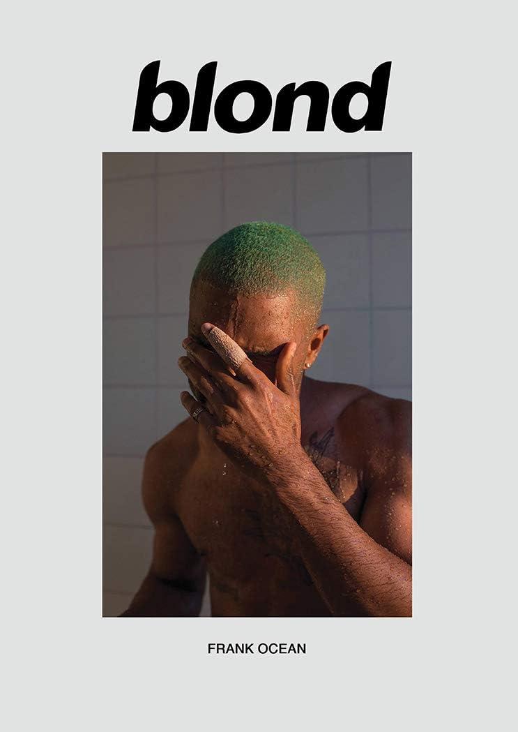 Kopoo Frank Ocean Blond Art Fabric Poster Wall Decor HD Print