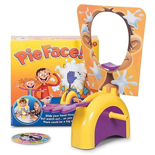 DeliaWinterfel Juego Pie Face ! Cara Splash ! Juego de Reflejos, para 2 o más Jugadores, Diversión para Todos. El éxito de Internet by