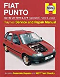 Fiat Punto Petrol & Diesel (94 - Oct 99) L To V (Haynes Service and Repair Manuals)