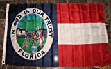 Florida Republic Flag 3 x5  1861 1st State Banner