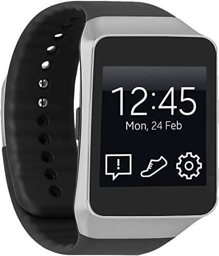 """popular Samsung Gear Live R382 Google 1.6"""" Smartwatch high quality for online Android Devices w/Super AMOLED - Black online sale"""