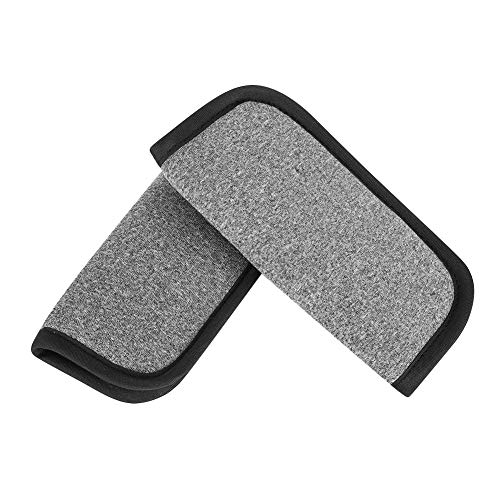 Accmor Baby Car Seat Straps Shoulder Pads, Stroller Belt Covers, Soft Seat Belt Covers for Baby Kids, Strap Covers for Car Seats, Pushchair, Stroller,Gray