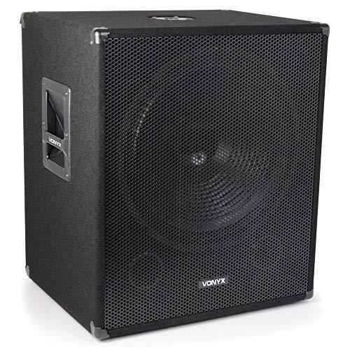 VONYX SWA18 18' Active Subwoofer Bass Bin DJ Disco Party PA Sub Speaker...