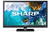 Sharp LC-24CHF4012E 24' HD Nero, HD Ready E-LED TV 1366×768, 2019