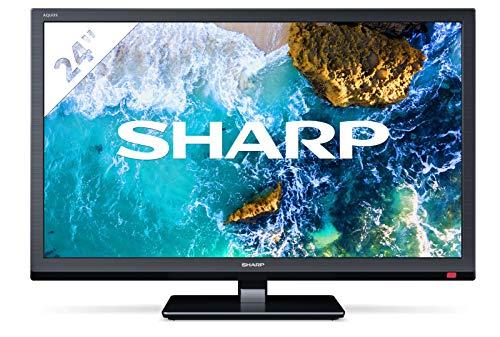 SHARP LC-24CHF4012 60 cm (24 Zoll) Fernseher (HD TV, Triple Tuner) [Energieklasse A]