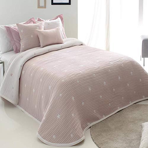 Reig Marti - Colcha Capa DEMPSY - Cama 150 Cm - Color Rosa C02
