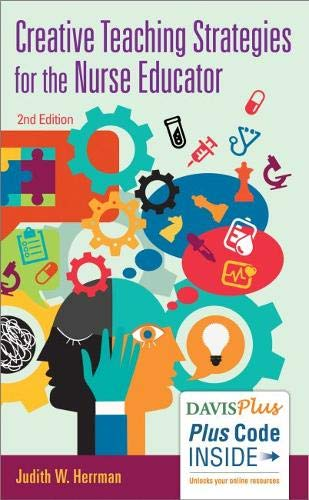Download Creative Teaching Strategies for the Nurse Educator 080364468X