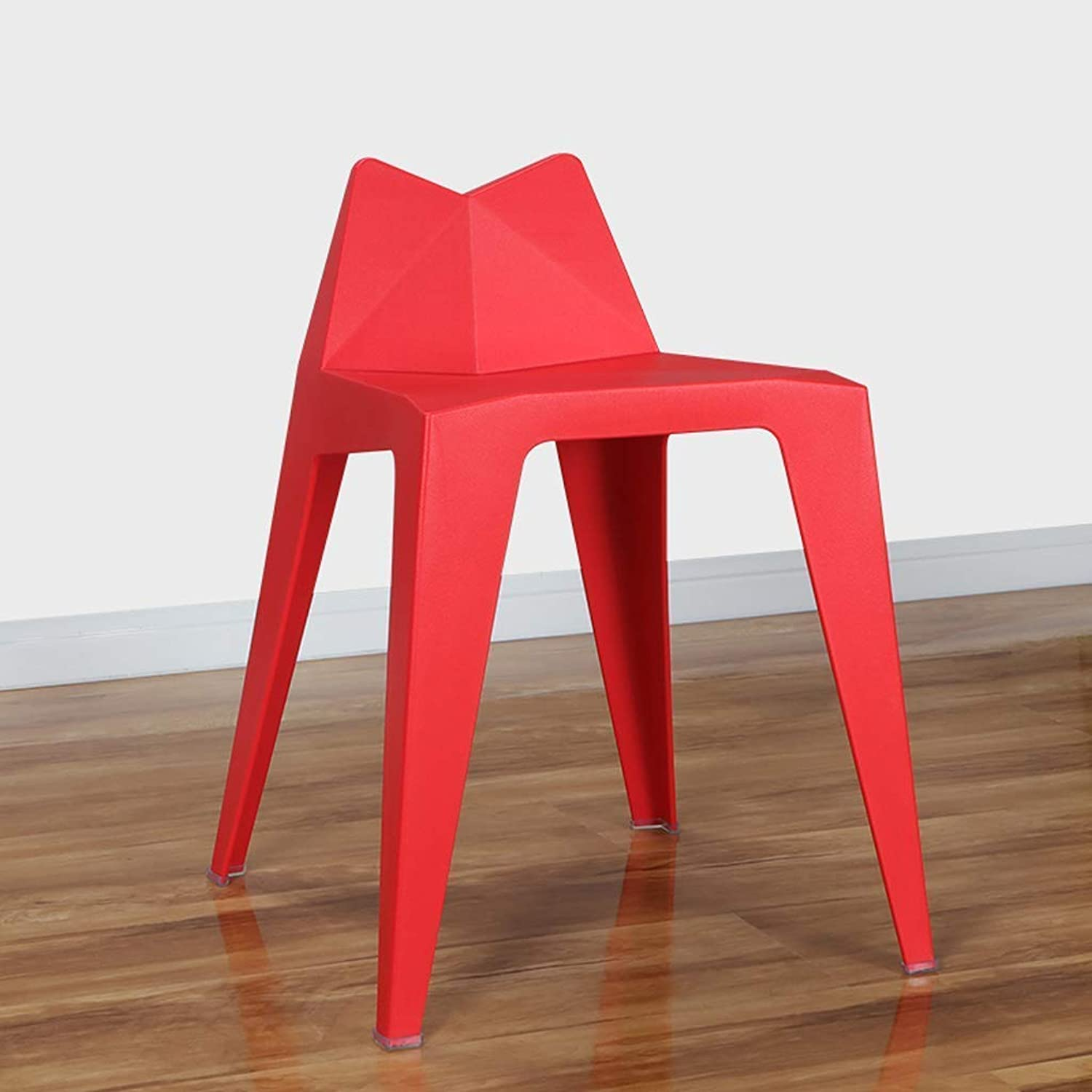 Chair-Simple Creative Chair Backrest Stool Restaurant Tea Shop Lounge Chair Cafe Fashion Personality Stool Chair,Red