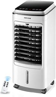 Aires acondicionados Climatizador Evaporativo Climatizador Portátil Frío Ventilador De Torre con Aromatización del Aire 3 Velocidades Función Frío (Color : Blanco, Size : 24 * 28.5 * 60.5cm)