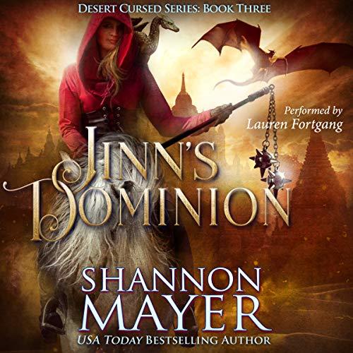 Jinn's Dominion audiobook cover art