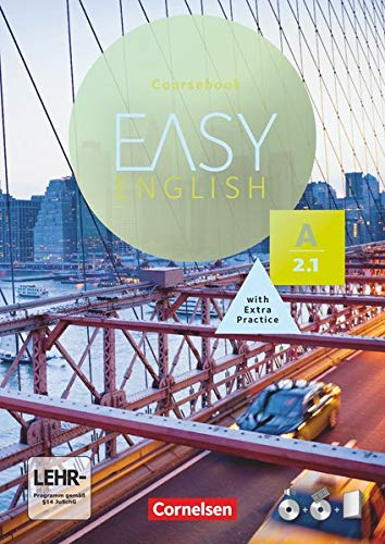 Easy English - A2: Band 1: Kursbuch - Mit Audio-CDs, Phrasebook, Aussprachetrainer und Video-DVD