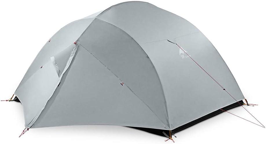 8haowenju Tente extérieure de Haute qualité pour 3 Personnes, Tente d'équitation, résistant au Vent et à la Pluie, matériau épais et Chaud, Ultra-léger, Facile à Installer