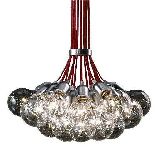 Lámpara colgante de bola de cristal LED personalizada el dormitorio romántico restaurante lámpara de techo Bar iluminación colgante colgante