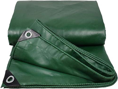 Bache en PE épaissie, Bache Imperméable en Tissu Poreux Vert, Bache De Prougeection pour Plantes, Poids 520g, épaisseur 0,4 Mm (Taille   5  6m)