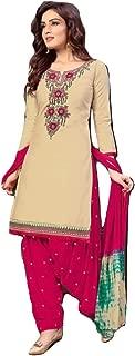 Patiala Salwar Kameez Embroidered Womens Indian Dress Ready to wear Punjabi Salwar Suit