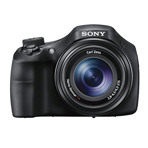 Sony DSC-HX300 Digitalkamera (20,4 Megapixel, 50-fach opt. Zoom, 7,5 cm (3 Zoll) LCD-Display, Full HD, micro HDMI) schwarz