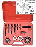 CNWOOAIVE 12 Piezas Coche Alternadores de Dirección Asistida Polea Extractor Desmontaje Instalador Kit de Herramientas
