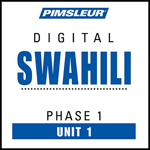 Swahili Phase 1, Unit 01 audiobook cover art