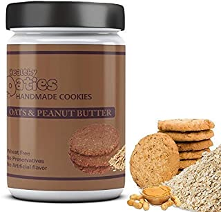 Healthy Oaties Fresh Soft Baked Peanut Butter Cookies High in Protein Non GMO No Wheat Flour, No Refined Sugars 270gm